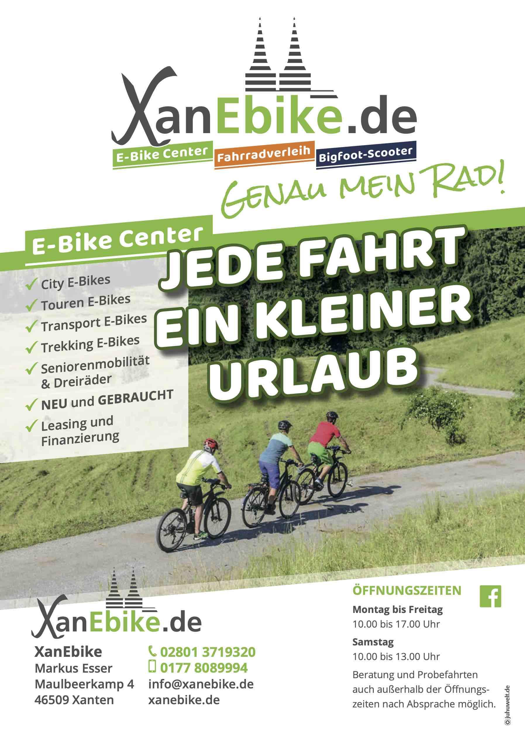 E-Bike Shop Niederrhein
